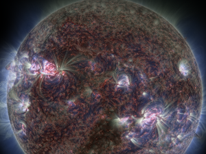 """Planetaariumi film """"Päike - meie elav täht"""". Energia avastuskeskus."""